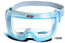 Kimberly-Clark Jackson Safety* 14399 V80 Revolution* OTG Safety Goggles, Clear Anti-Fog Lens with Blue Frame