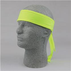 Ergodyne Chill-Its® 6700CT Evaporative Cooling Bandana, Lime Green