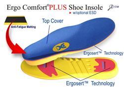 Johnson Technologies Ergo-Comfort Plus Insole