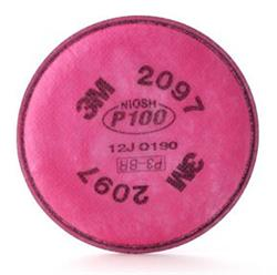 3M™ Particulate Filter 2097/07184(AAD) P100