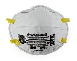 3M™ Particulate Respirator 8210, N95
