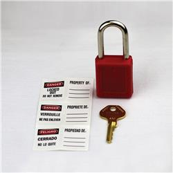 Master Lock Thermoplastic Safety Padlock
