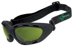 ORR XP800 Safety Goggles Black Frame, 3.0 IR Green Lens