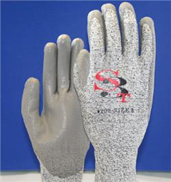 ORR ANSI Cut Level A2 HPPE-Nylon Polyurethane Coated Glove