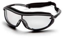 Pyramex XS3 Plus Safety Eyewear, Clear Anti-Fog Lens