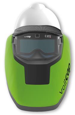 Optrel voltcap hard Arc Flash Helmet, 31 cal/cm2