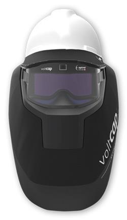 Optrel voltcap hard Arc Flash Helmet, 55 cal/cm2