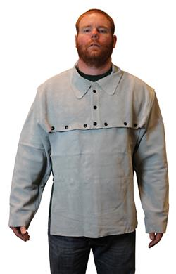 Steel Grip Leather Cape Sleeves