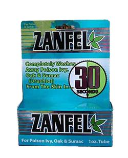 Zanfel Labs Poison Ivy, Oak, and Sumac Wash